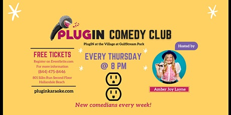 PlugIN Comedy Night at GulfStream Park tickets