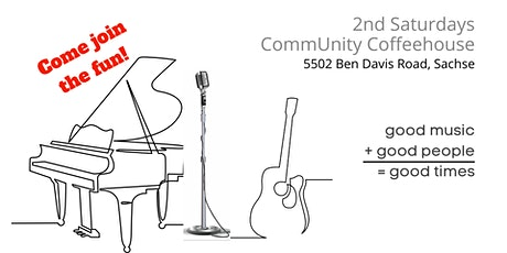2nd Saturdays CommUnity Coffeehouse tickets