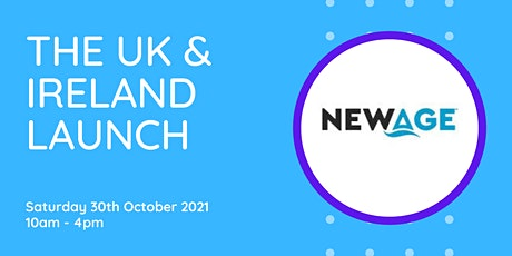 The Official Newage Launch UK & Ireland tickets