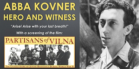 SOUSA MENDES FOUNDATION presents: ABBA KOVNER, HERO AND WITNESS tickets