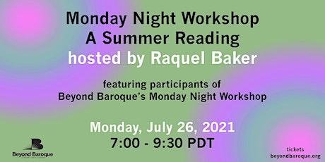Beyond Baroque's Monday Night Workshop Reading tickets
