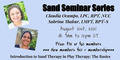 Sand Seminar Series: Introduction to Sand Therapy tickets