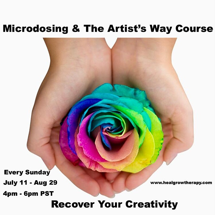 Microdosing and The Artist's Way Course image