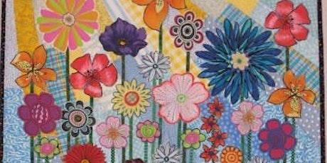 """""""Whimsical Garden"""" quilt workshop tickets"""