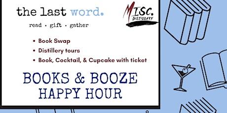 Books & Booze Happy Hour tickets