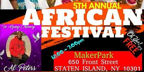 AFRICAN ARTS & CULTURAL AWARENESS FESTIVAL (AFRICANFEST-NYC 2021) tickets