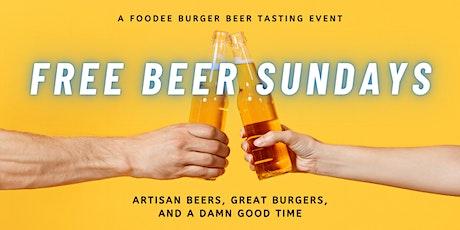 Free Beer Tasting tickets