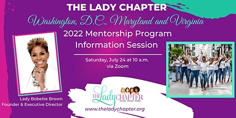 The Lady Chapter Mentorship Program 2022 tickets
