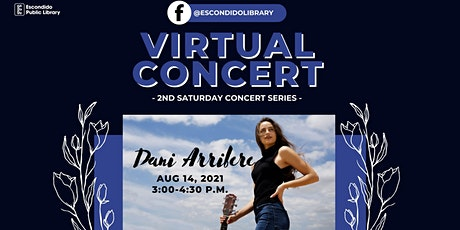 Free Virtual Concert: Dani Arribere tickets