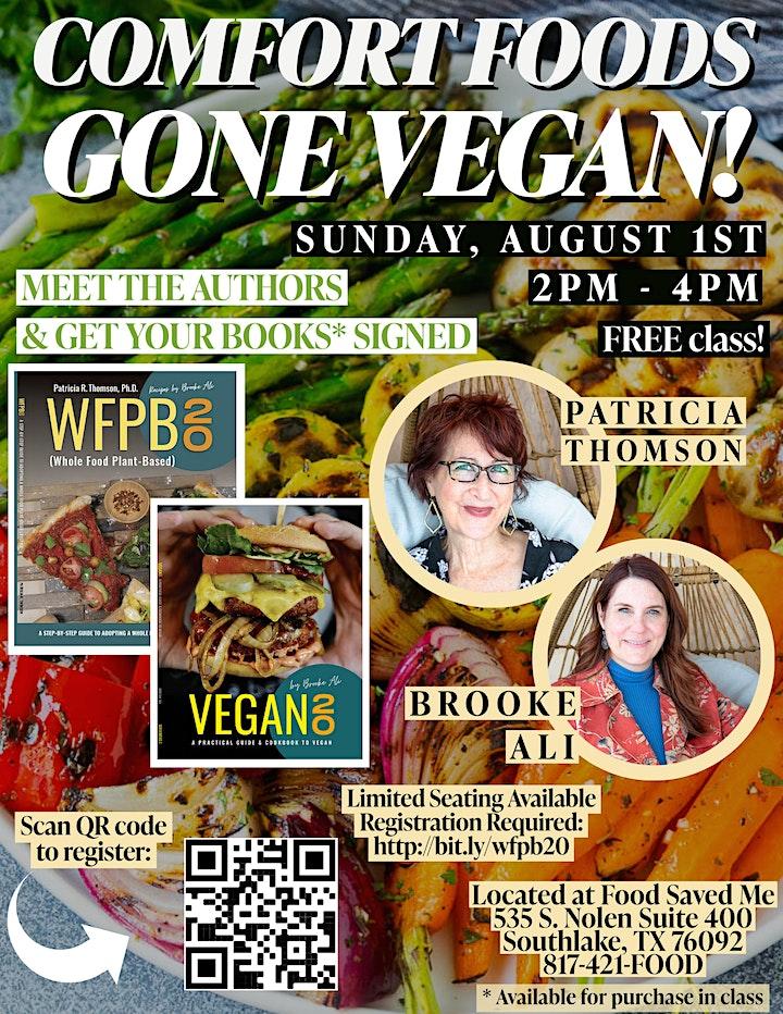 FREE Nutrition Class: Comfort Foods Gone Vegan! image