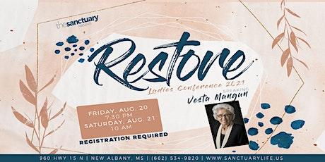 Restore Ladies Conference 2021 tickets