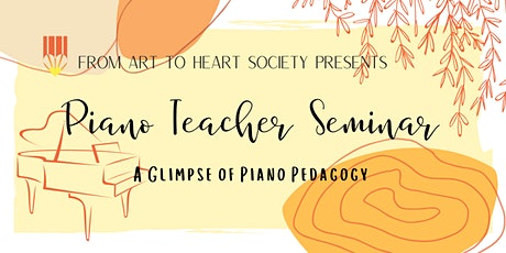 Piano Teacher Conference tickets