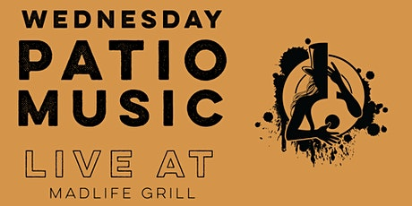 Wednesday Patio Music Open Mic Night — Extended Sets Hosted by Greg Shaddix tickets