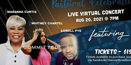 Virtual Concert  featuring Maranda Curtis/Lowell Pye/Whitney Chantel tickets