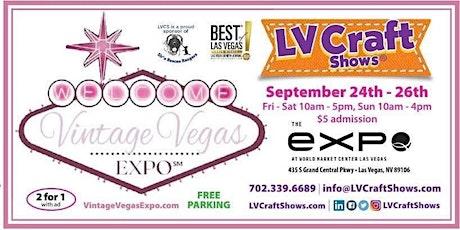Vintage Vegas Expo tickets