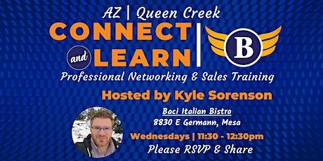 AZ   Queen Creek - Networking & Sales Training tickets