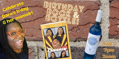 Birthday! Book! Bottle! tickets