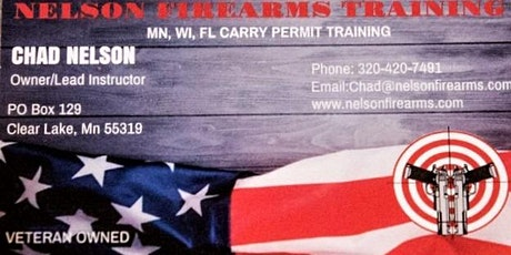 Multi State Permit to Carry Course tickets
