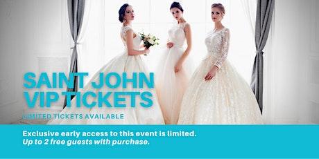 Saint John Pop Up Wedding Dress Sale VIP Early Access tickets