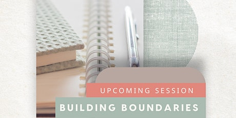 Building Boundaries Wellbeing Journaling Session - 3PM tickets