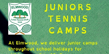 Elmwood Summer Tennis Camps ( week 3) tickets