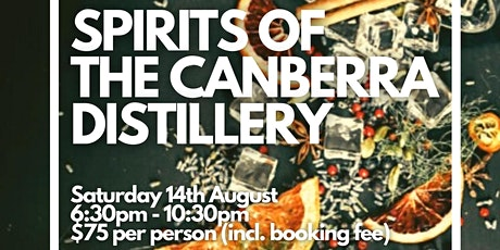 Sprits of The Canberra Distillery tickets