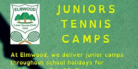 Elmwood Summer Tennis Camp ( week 5 ) tickets
