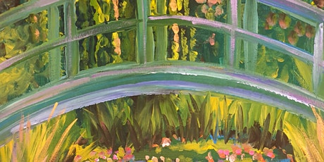 Social Strokes™  Painting Class - Monet's Water Lillies tickets