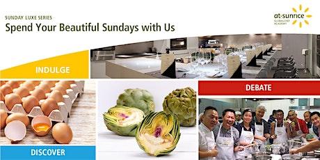 Sunday Luxe Series: Delightful WellSpent Produce Market tickets