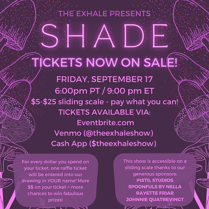 The Exhale Presents: SHADE image