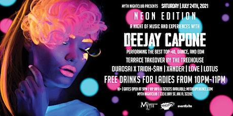 Saturday Night - NEON EDITION at Myth Nightclub | Saturday 07.24.21 tickets