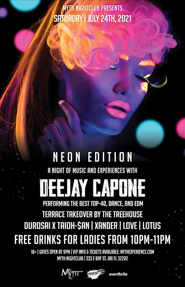 Saturday Night - NEON EDITION at Myth Nightclub | Saturday 07.24.21 image