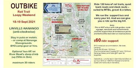 Loopy Rail Trail Weekend - Linville to Nanango BVRT & Beyond 130km circuit tickets