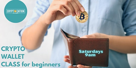 Crypto Wallet for Beginners tickets