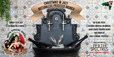 Christmas in July - Bottomless Prosecco Brunch tickets