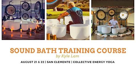 Sound Bath/Sound Healer Training Course tickets