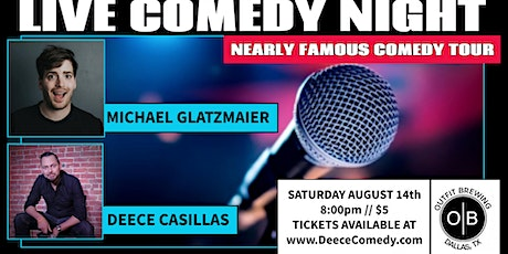 Nearly Famous Comedy at Outfit Brewing tickets