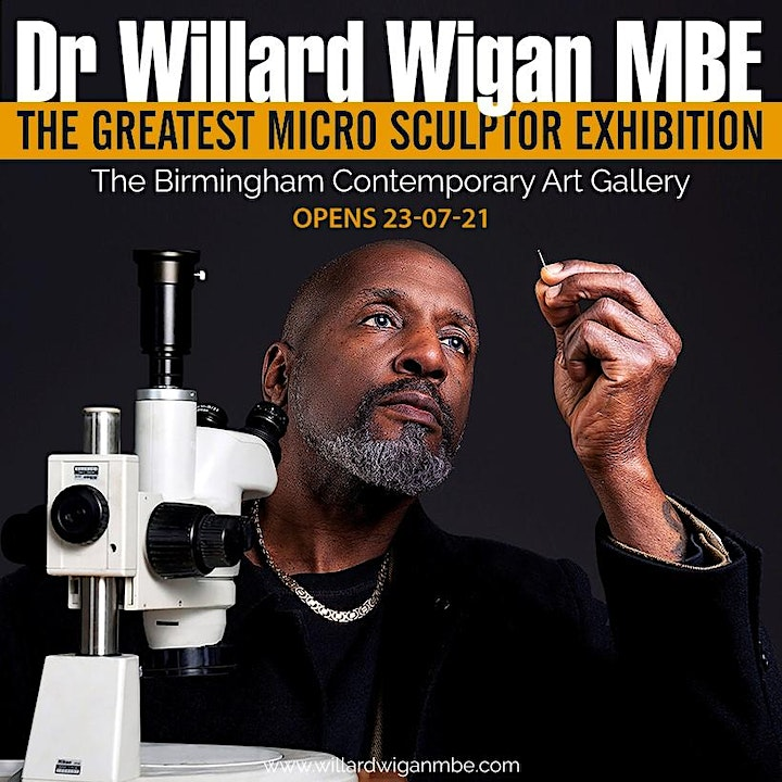 DR WILLARD WIGAN MBE - THE GREATEST MICRO SCULPTOR EXHIBITION image