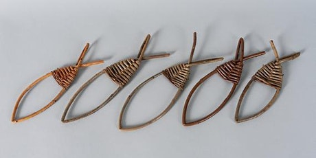 Make simple willow decorations, Eg fishes, stars, rings tickets
