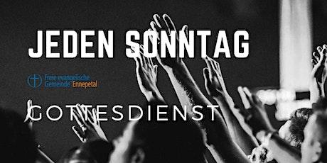 Gottesdienst der FeG Ennepetal 01.08.2021 Tickets