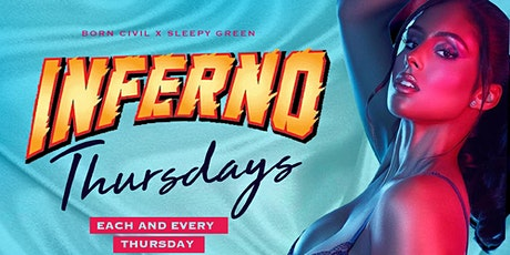 Inferno Thursday Night Party @Embr Ultra Lounge tickets