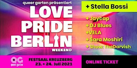 Love Pride Berlin weekend  Fr.23 & Sa.24.07. Kombi-Ticket Tickets