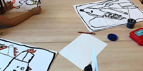 Kinderworkshop Schilderkunst billets
