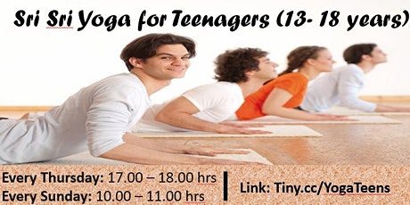 Yoga and Meditation workshop for Teens (13-18 years) tickets