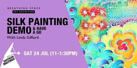 Silk Painting Demo with Linda Gifford tickets