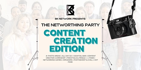 The Networthing Party - Content Creation tickets