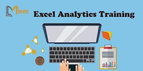 Excel Analytics 4 Days Virtual Live Training in Colorado Springs, CO biglietti