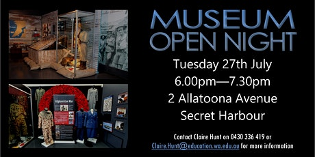 Comet Bay College Military Museum Open Night tickets