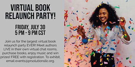 Black Writers Workspace Virtual Book Relaunch Party & Book Fair tickets