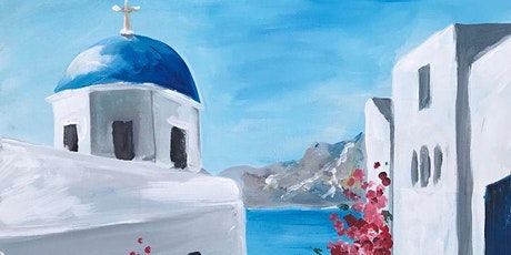 Somewhere in Santorini Brush Party – Wallingford tickets
